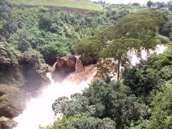 The Rusomo Falls, Kirehe district in Rwandan Eastern Province (Photo:Bassem ABo Alabass)