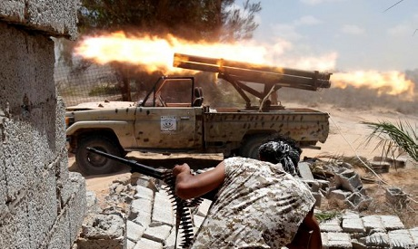 Libya fights Islamic State fighters