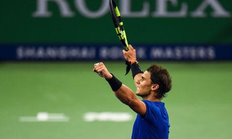 Rafael Nadal of Spain (AFP)