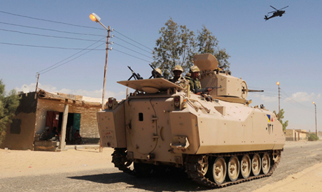 Six soldiers killed in militant attack in Egypt