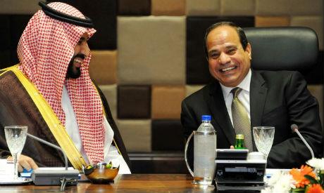 Sisi and Bin Salman