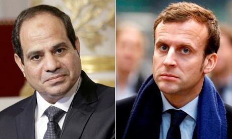 Sisi and Macron