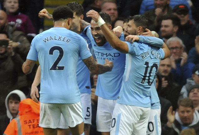 PHOTO GALLERY: Man City, Chelsea win in England, United lose, Barcelona beat Malaga