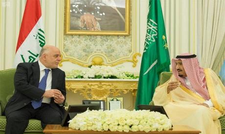King Salman, Haider al-Abadi