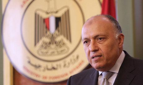 Egypt FM Sameh Shoukry(Reuters)