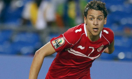 Msakni scores hat-trick as Tunisia edge closer to 2018 World Cup