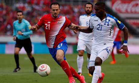Costa Rica claims ticket to Russian Federation
