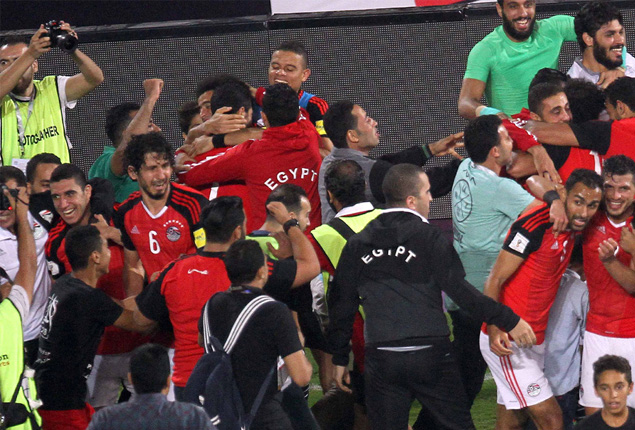 PHOTO GALLERY: Egypt through to World Cup with dramatic win over Congo