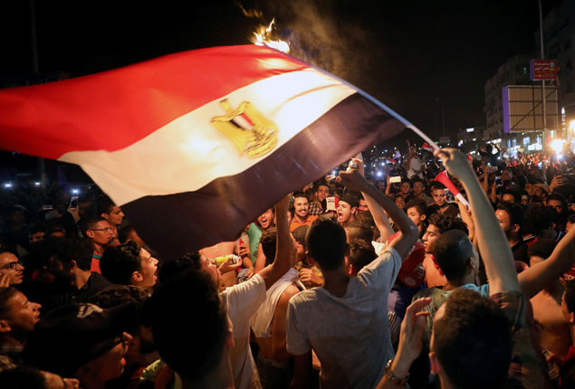 PHOTO GALLERY: Egyptians hit streets to celebrate World Cup qualification