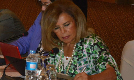 Egyptian female ambassador Moshira Khattab (Photo Courtesy of Mohsira Khattab official website)