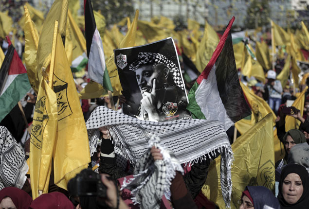 PHOTO GALLERY: Tens of thousands mark Arafat death anniversary in Gaza
