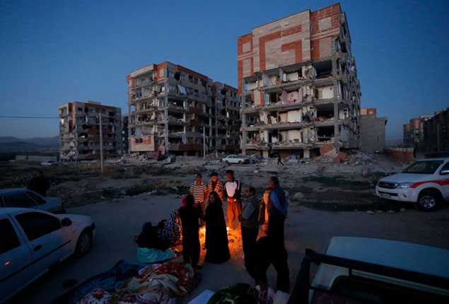 PHOTO GALLERY: Earthquake hits Iraq and Iran