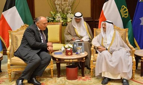 Egypt fm Kuwait