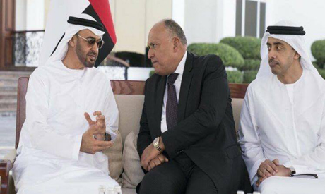 Shoukry in UAE