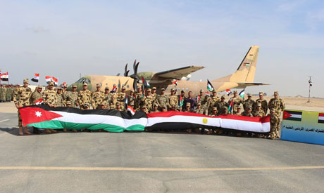 Egypt, Jordan armed forces (Photo: facebook.com/EgyArmySpox/)