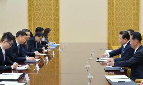Chinese, N.Korean envoys
