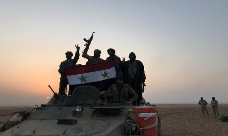 SANA: Syrian army clashes with IS in Abu Kamal