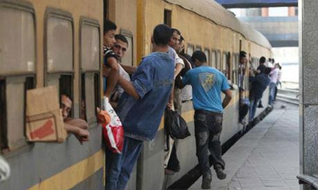 Egypt railway train