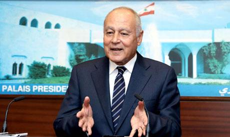 Arab League chief Ahmed Abul Gheit (AFP)