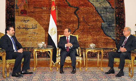 Egyptian President Sisi to meet Lebanon's El-Hariri in Cairo Tuesday