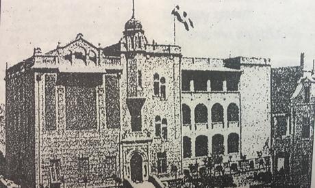 DEO,oldest building, ,Boulak1908
