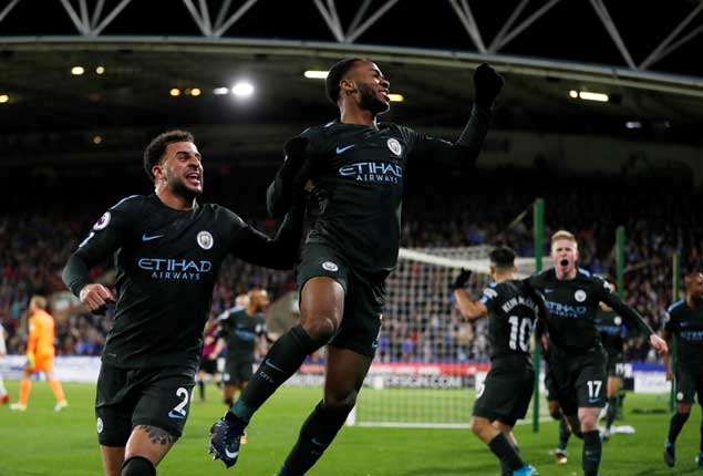 PHOTO GALLERY: Manchester City march on in leading EPL race, Barcelona draw in Spain