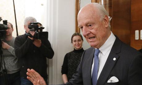 De Mistura: Assad team not 'confirmed' for Geneva talks