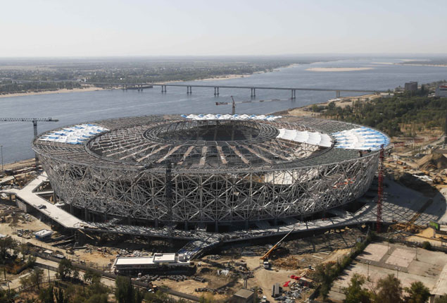 PHOTO GALLERY: A look at the 2018 World Cup stadiums in Russia