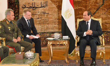Russian Defense minister Shoigu hold talks with Egyptian president Abdel Fattah El-Sisi (Photo: face