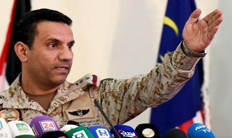 Saudi led-Coalition spokesperson
