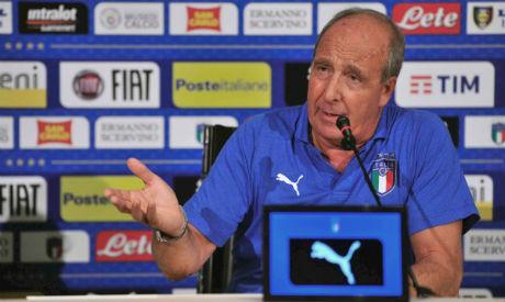 Italy coach Gian Piero Ventura