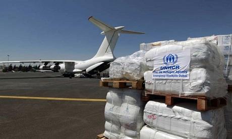 UN aid plane