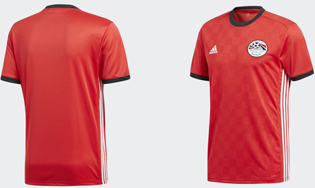 new styles b8313 857af New design of Egypt's World Cup kit draws stinging criticism ...