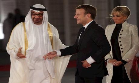 Macron, Mohammed bin Zayed