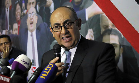 Egyptian lawyer and ex-presidential candidate Khaled Ali (Reuters)