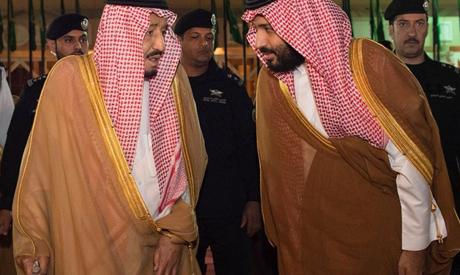Saudi King & Crown Prince