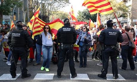 Pro-Unity protest