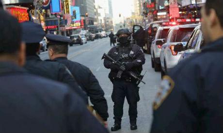 Manhattan blast