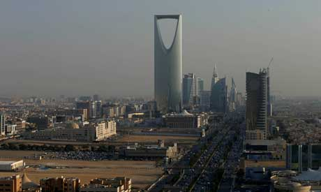The Kingdom Centre Tower is seen in Riyadh, Saudi Arabia (Reuters)