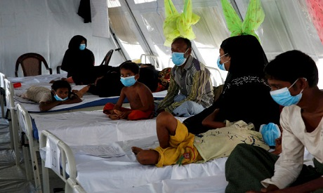 Refugees suffer from diphtheria