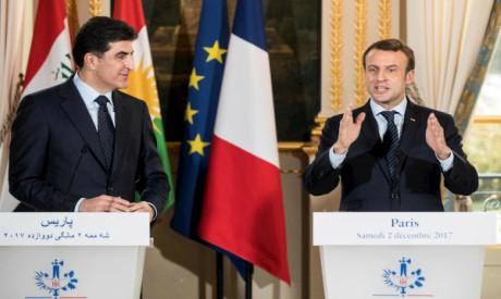 Emmanuel Macron, Nechirvan Barzani