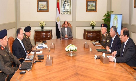 Sisi and ministers