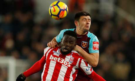 Stoke City boss Mark Hughes: 'I'm not one defeat from sack'