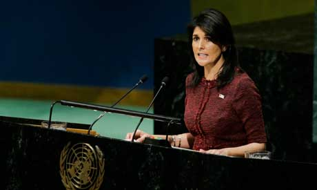 United States Ambassador to the United Nations, Nikki Haley