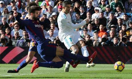 Soccer Football - La Liga Santander - Real Madrid vs FC Barcelona - Santiago  Bernabeu f543ba06290