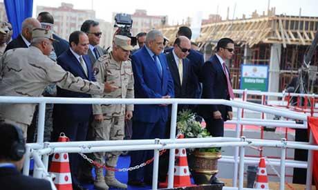 El-Sisi in Ismailia