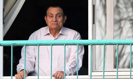 File photo: Former Egyptian President Hosni Mubarak (AP)