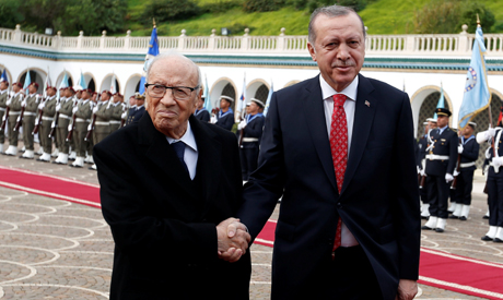 Essebsi, Erdogan