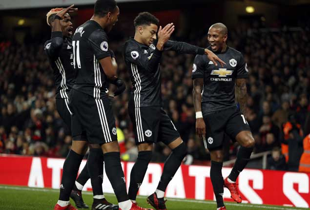 PHOTO GALLERY: Man United beat Arsenal, Liverpool win in England, Barcelona, Real Madrid draw