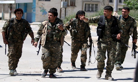 YPG forces
